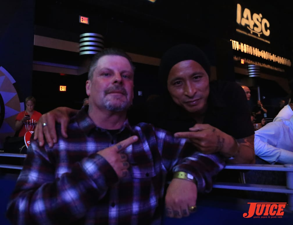 Eric Dressen and Daewon Song. Photo by Dan Levy © Juice Magazine