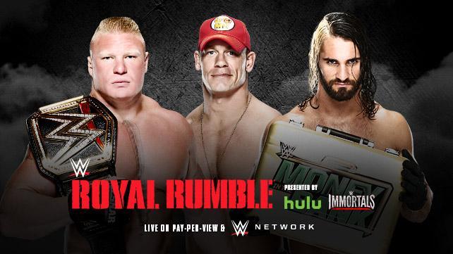 Cena Lesnar Rollins