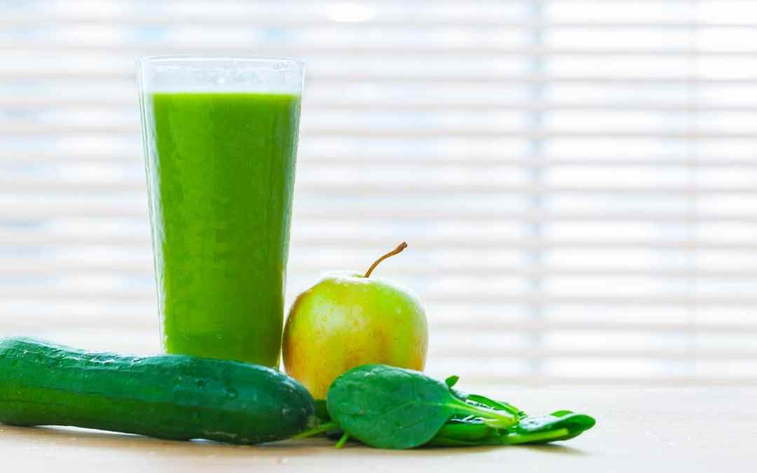 Spinach Juice Recipe with Apple and Cucumber
