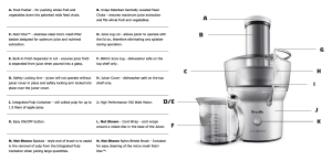 Breville Juice Fountain Compact BJE200XL Juicer Review 2