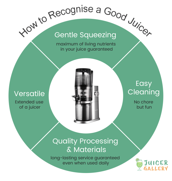 How to recognise a good juicer