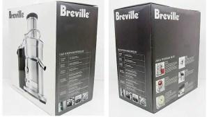 Breville 800JEXL Juicer, Box, Review, Juicer Portal