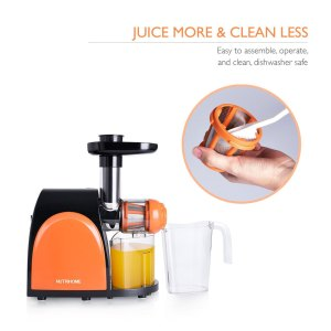 Nutrihome Juicer, Masticating, Juice Extractor, Easy to Clean, Juicer Portal, Review