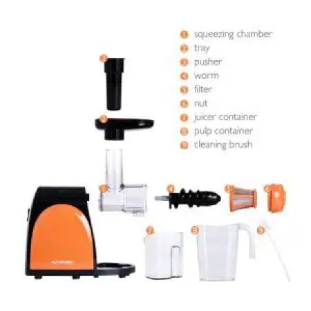 Nutrihome Juicer Masticating Juice Extractor Parts