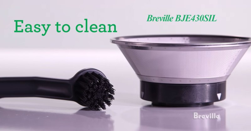 Breville BJE430SIL Easy to Clean