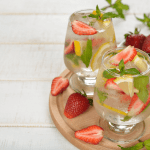 Strawberry Mint-Lemon Infused Water