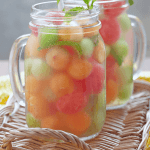 The Ultimate Melon Ball infused Water Recipe