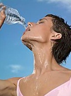 Drink water - little and often to stay hydrated