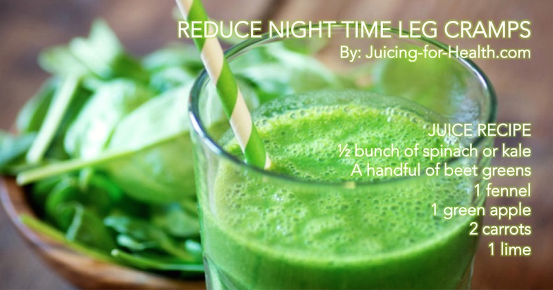 Prevent Night Time Leg Cramps With This High Potassium ...