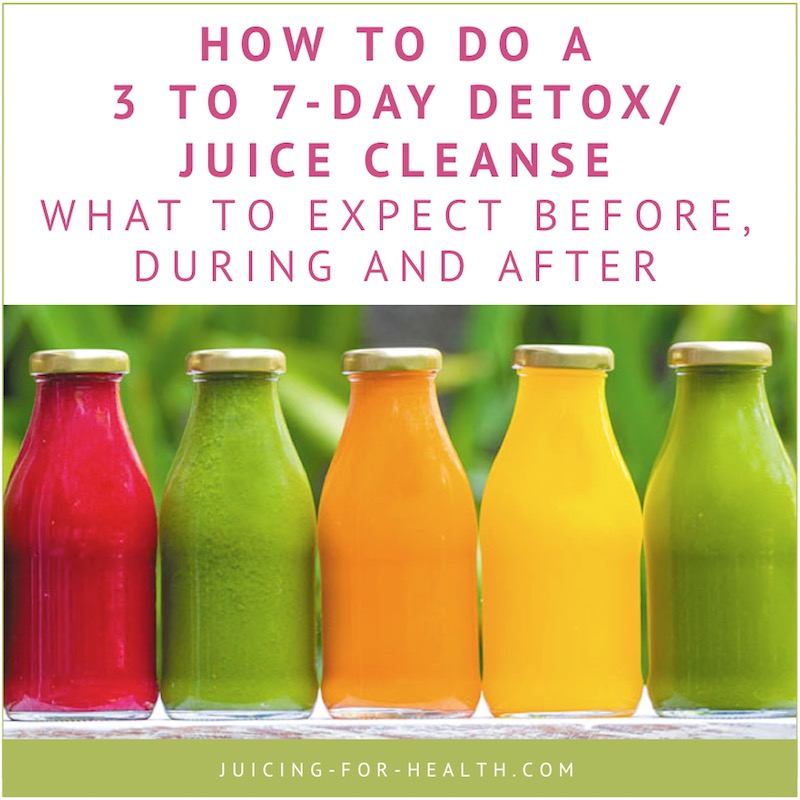 3 to 7-Day Detox/Juice Cleanse - Tips For Before During ...