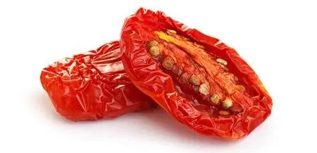2 small sun-dried tomatoes