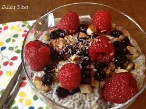 Chia seed breakfast 1