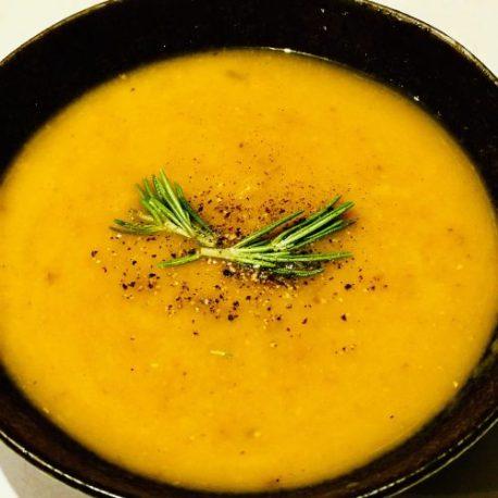 Juicy Lucy's Carrot, Coriander & Coconut Soup