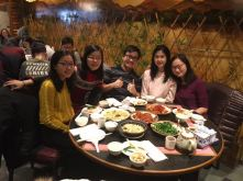 CJ and dear friends - Yinying Tseng, Annabell Chiu, Joey Chang, Yun Chih Hsu