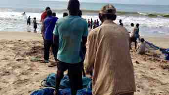 Seine Fishing in Kokrobite Beach, Ghana. #JujuFilms