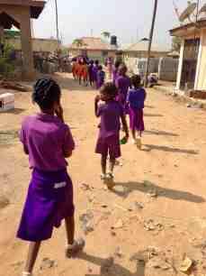 School Children in Ushafa Village, Abuja, Nigeria #JujuFilms