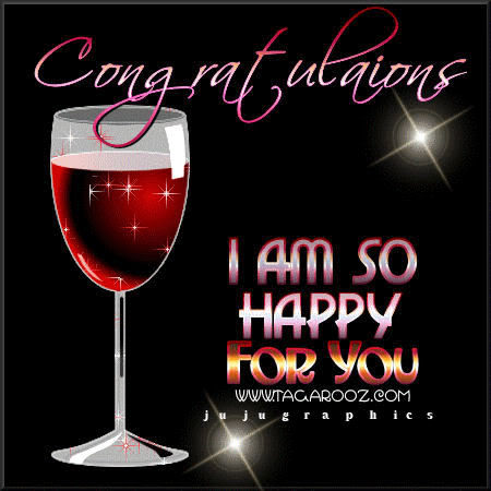 Congratulations I Am So Happy For You Graphics Quotes
