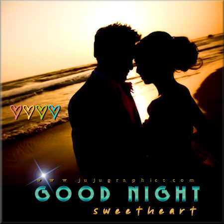 Good Night Sweetheart 4 Graphics Quotes Comments Images Amp Greetings For Myspace Facebook