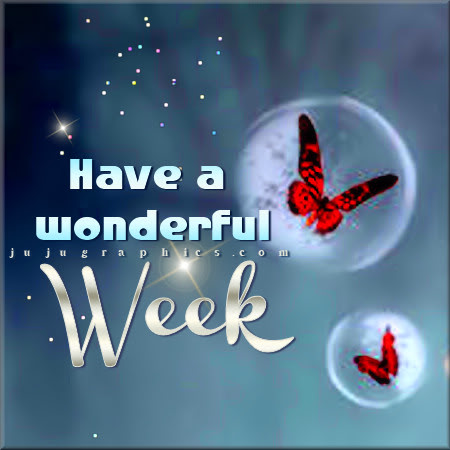 Have A Wonderful Week 7 Graphics Quotes Comments Images Amp Greetings For Myspace Facebook