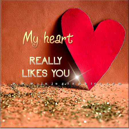 My Heart Really Likes You Graphics Quotes Comments