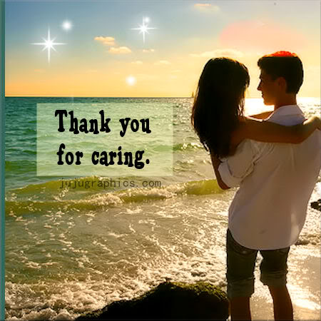 Thank You For Caring Graphics Quotes Comments Images
