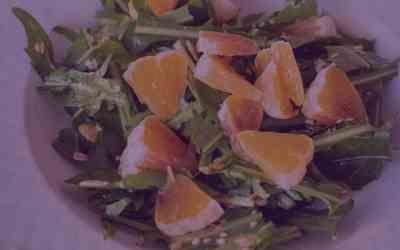 Arugula Ginger Citrus Salad