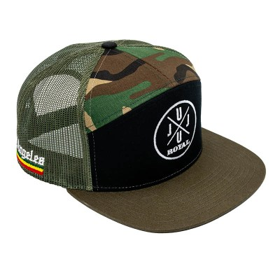 JuJu Royal Tri-Color Camo Hat