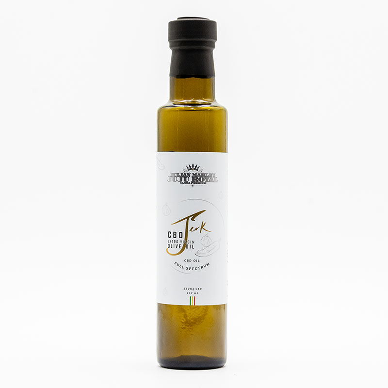 JuJu Royal Jerk CBD Olive Oil