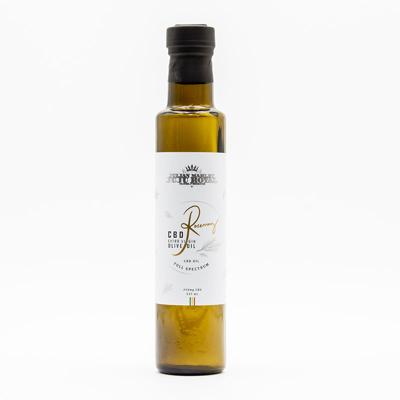 JuJu Royal Rosemary CBD Olive Oil