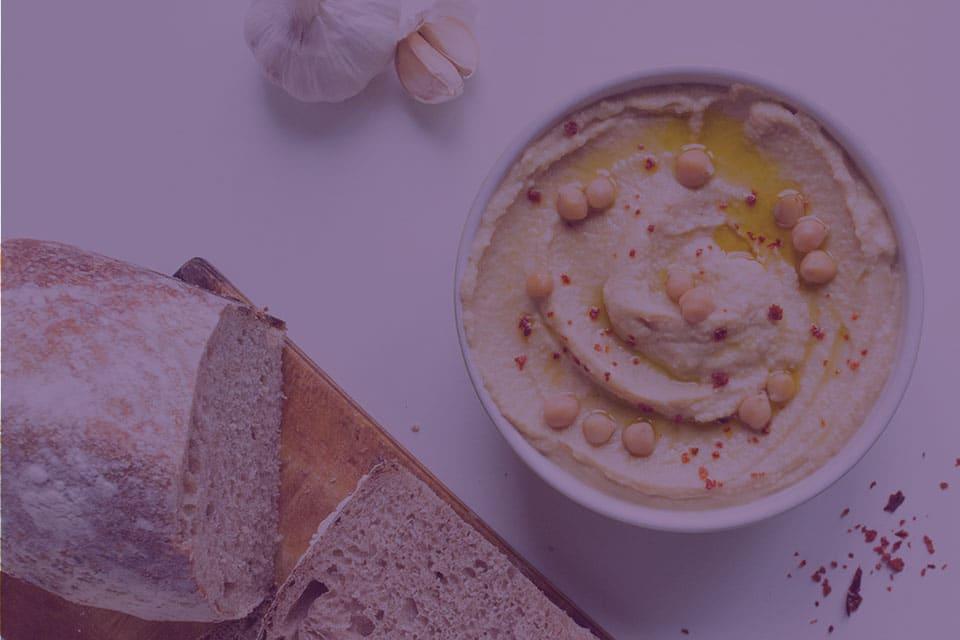 Garlic Hummus - Julian Marley JuJu Royal