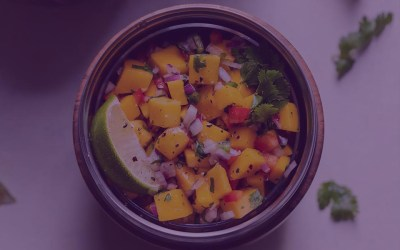 Zesty Ginger Mango Salad