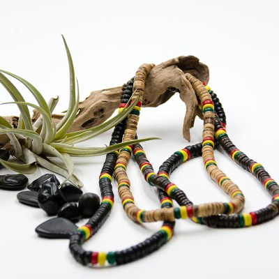 JuJu Royal Rasta Coco Necklace