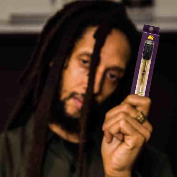 Julian Marley JuJu Royal PULL Vape Battery