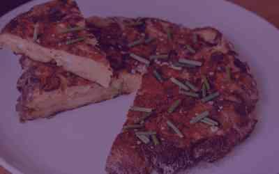 Spicy Garlic Tortilla