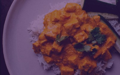 Spicy Jerk Vegan Curry