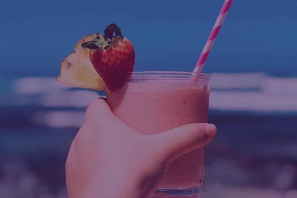 Strawberry Pineapple Smoothie - Julian Marley JuJu Royal