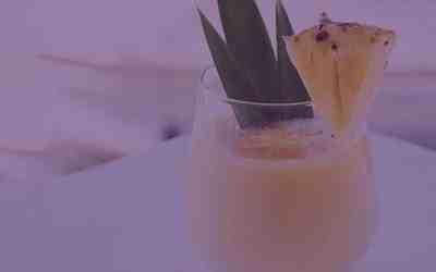 Sweet and Spicy Pineapple Slushy