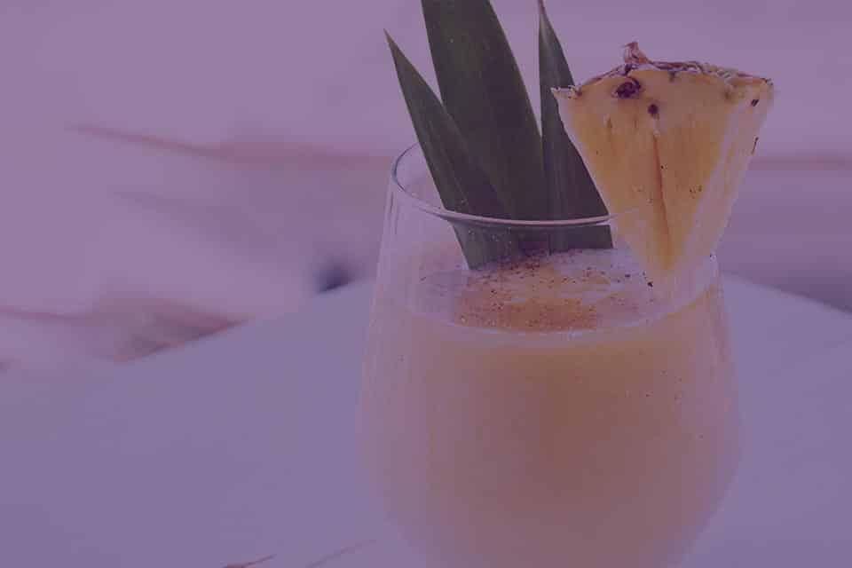 Sweet and Spicy Pineapple Slushy - Julian Marley JuJu Royal