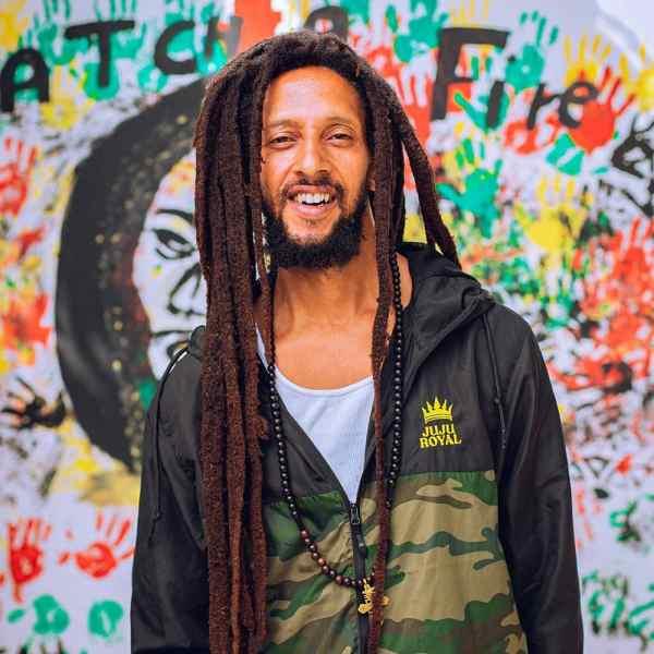 Julian Marley JuJu Royal Windbreaker