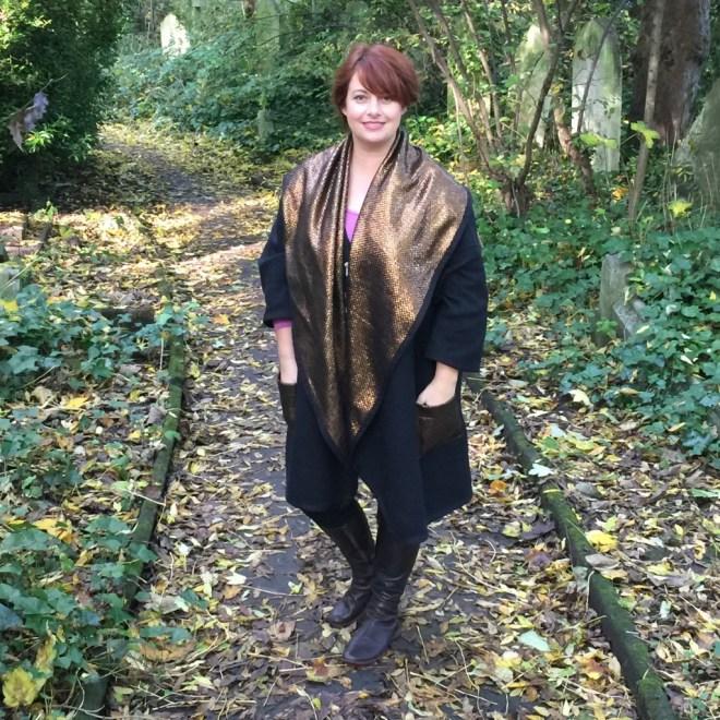 Juju In Winter coat