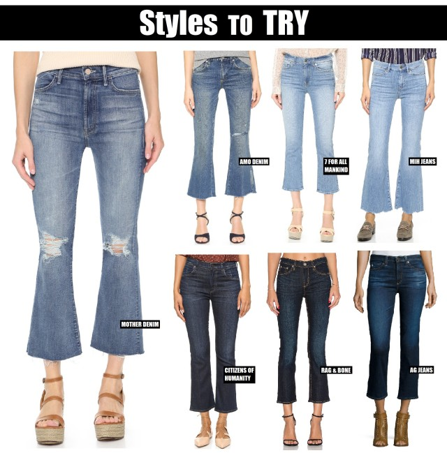 Cropped Flare Style