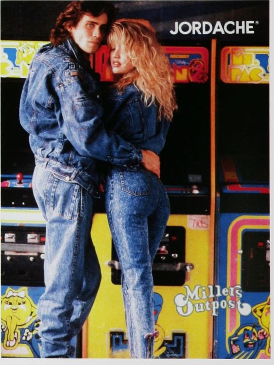 jordache jeans from the 80s