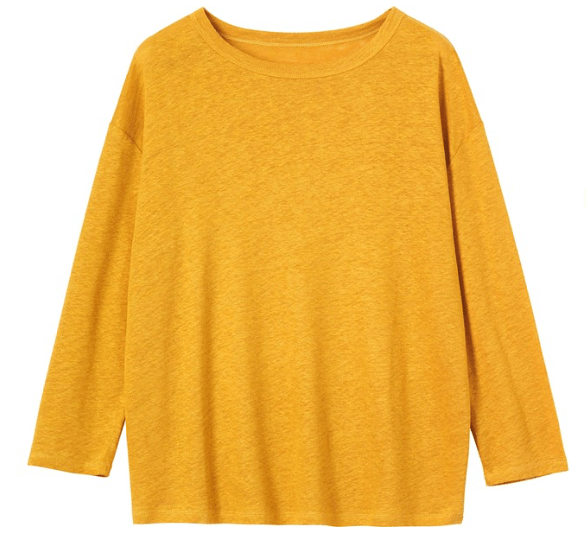 Toast top in yellow
