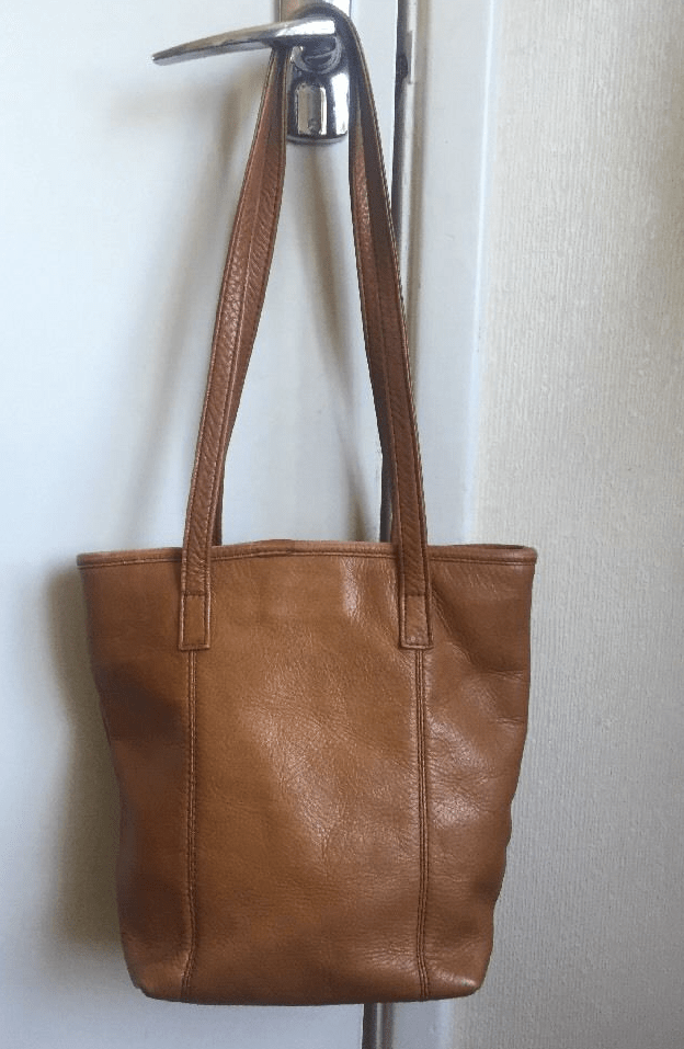 eBay leather bag