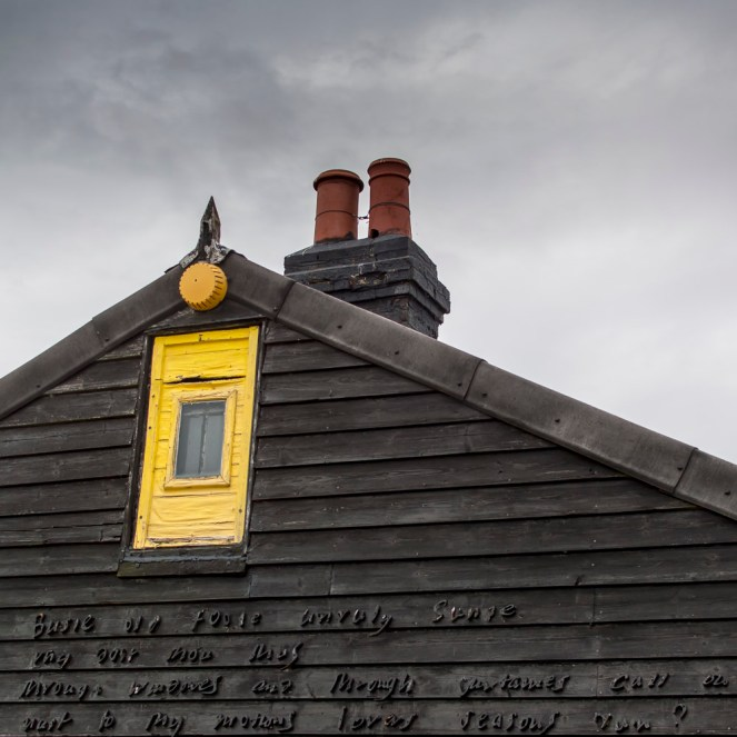 Derek Jarman's house in Dungeness