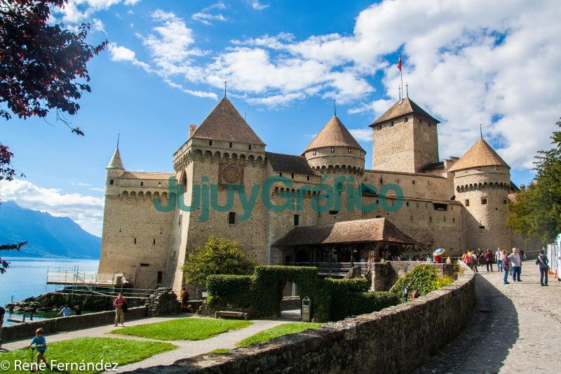 Castillo de Chillon Lago Leman Suiza