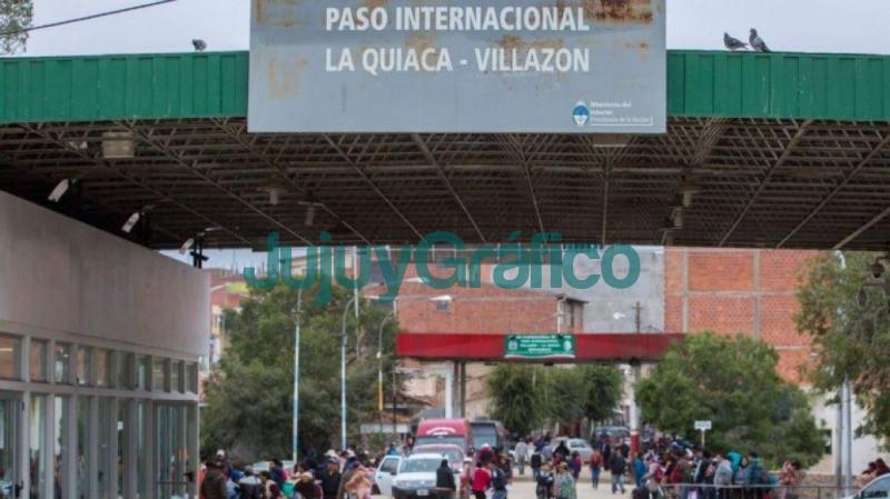 La primera apertura de transito vecinal fronterizo sera entre La Quiaca y Villazon