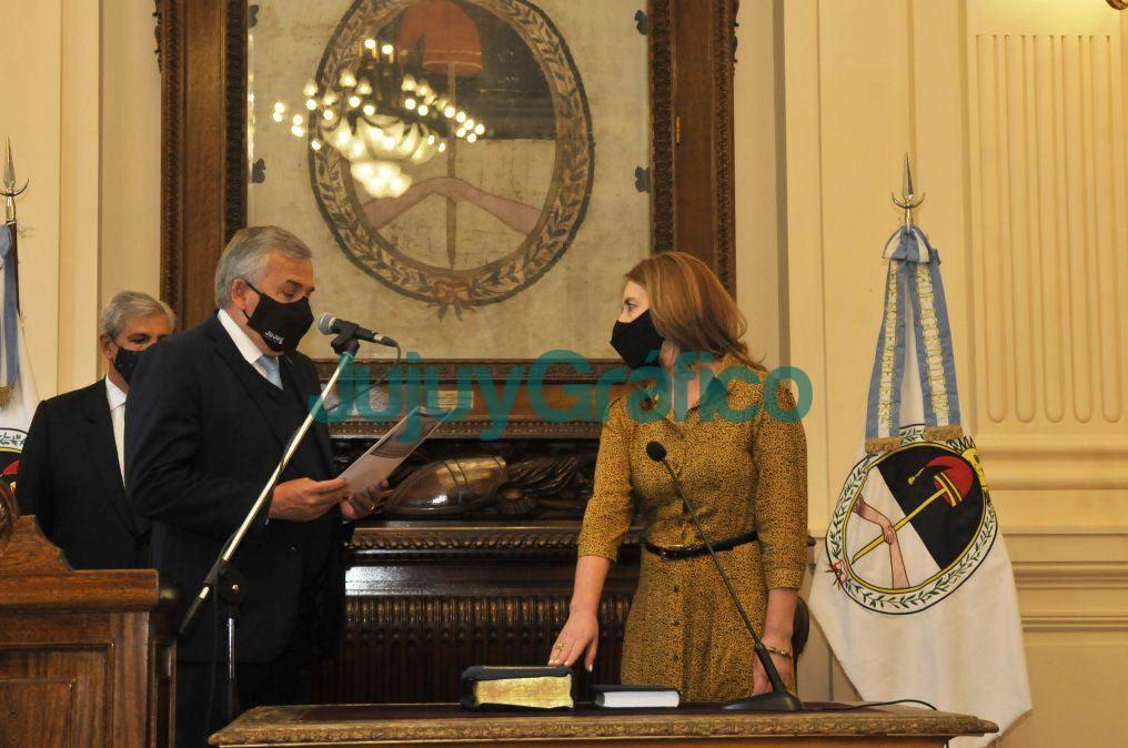 Morales puso en funciones a Maria Teresa Bovi en Educacion 1