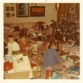 McGilvray Family Christmas, 1970. (Brenda, Denis, Patrick, Mom.)