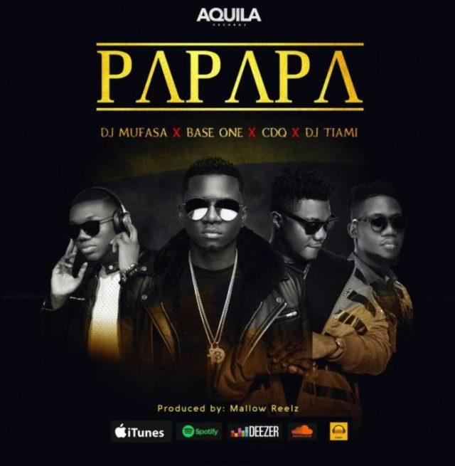 Baseone ft. CDQ, DJ Tiami & DJ Mufasa – Papapa + Gbera